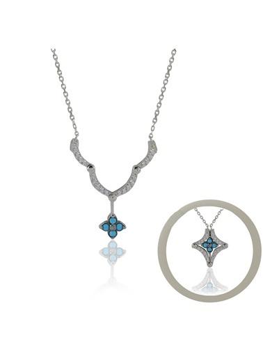 İkili Kolye-Söğütlü Silver